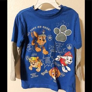 🍭Paw Patrol Long Sleeve Shirt for Boy size 5